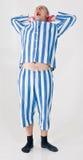 Prisoner or criminal costume Royalty Free Stock Photography