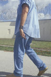Prisoner at Dade County Correctional Facility, FL Royalty Free Stock Image