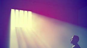 Light In Dark Room prisoner in dark room stock photo - image: 45628985