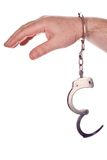 Prisoner hands Royalty Free Stock Photos