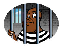 Prisoner inmate Royalty Free Stock Photography