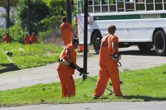 Free Prisoner Labor 1 Royalty Free Stock Photo - 842895