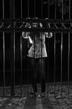Prisoner in the night Royalty Free Stock Image