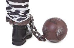 Prisoner's leg Stock Photos