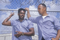 Prisoners at Dade County Correctional Facilit Stock Images