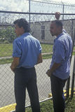 Prisoners at Dade County Correctional Facility. FL Stock Photo