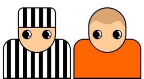 Prisoners symbol Royalty Free Stock Images