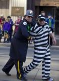 Prisonner  , st patrick's day parade Stock Photo