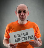 Prisonnier Image libre de droits