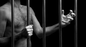 Prisonnier Photographie stock