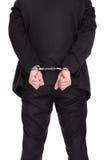 Prisonnier d'affaires Photo libre de droits