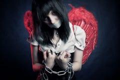 Prisonnier d'ange Image libre de droits