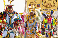 Prisonnier de guerre indigène wouah le Dakota du Sud Image stock