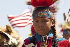 Prisonnier de guerre indigène wouah le Dakota du Sud Images libres de droits