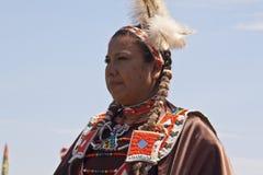 Prisonnier de guerre indigène wouah le Dakota du Sud Photographie stock libre de droits