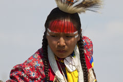 Prisonnier de guerre indigène wouah le Dakota du Sud Photos libres de droits