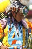 Prisonnier de guerre indigène wouah le Dakota du Sud Photographie stock