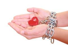 Prisonnier de l'amour Photographie stock libre de droits