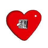 Prisonnier de l'amour Photos stock