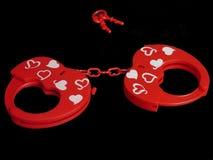 Prisonnier de l'amour. Photo stock