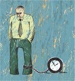 Prisonnier de temps Photo libre de droits