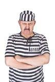 Prisonnier fâché Image stock