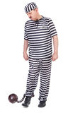 Prisonnier mécontent Image stock