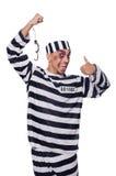 Prisonnier mal meurtri photographie stock libre de droits