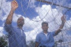 Prisonniers Photo stock
