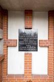 Prisonniers de monument de NKWD, jour du souvenir national du s Photo libre de droits