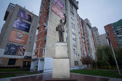PRISTINA, ΚΟΣΟΒΟ - 12 ΝΟΕΜΒΡΊΟΥ 2016: Άγαλμα του Bill Clinton στη λεωφόρο του Bill Clinton στη πρωτεύουσα Prishtina Στοκ εικόνες με δικαίωμα ελεύθερης χρήσης