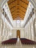 PRISTINA, КОСОВО - ИЮНЬ 2016: Римско-католический собор благословленной матери Тереза стоковая фотография