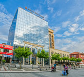 Pristina city center building Royalty Free Stock Photo