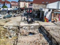 Pristina, Kosovo foto de stock