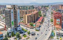 Pristina nowi budynki Fotografia Stock