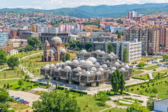 Pristina starzy budynki powietrzni Zdjęcie Royalty Free