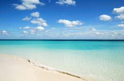 Pristine Beach Royalty Free Stock Photos