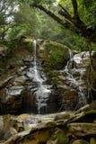 Pristine Beauty. Pristine waterfall on private land near Caldera, Panam Royalty Free Stock Photo