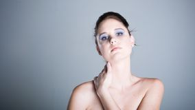 Pristine complection Royalty Free Stock Images