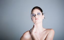 Pristine complection Royalty Free Stock Photography