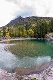 Pristine glacial river flow Royalty Free Stock Image