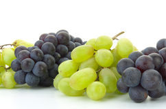 Pristine Grapes and Steuben Grapes Stock Photography