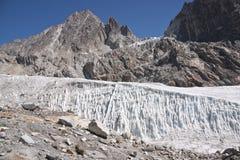 Pristine Himalayan Glacier Royalty Free Stock Photos