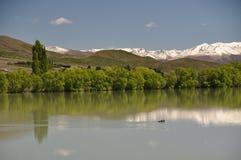 The pristine lake Stock Image
