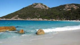 Pristine Little Beach, Western Australia Stock Photos