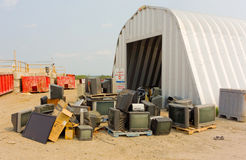 The pristine public dump at yellowknife Stock Photography