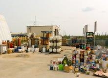 The pristine public dump at yellowknife Stock Photo