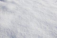 Pristine snow Stock Photo