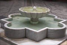 pristine springbrunn arkivbilder