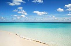 pristine strand royaltyfria foton